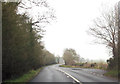SU0099 : Layby on A429 just north of Swallow Copse by John Firth