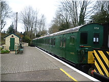 TR2548 : Old Southern Region carriage stock at Shepherdswell station by Marathon