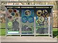 SP0565 : Bus shelter, Throckmorton Road, Greenlands, Redditch by Robin Stott