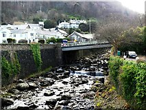 SS7249 : Lyn River, Lynmouth by nick macneill