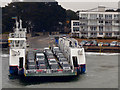 SZ0387 : The Sandbanks Chain Ferry by David Dixon