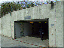 NS5566 : Meadow Road underpass by Thomas Nugent