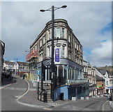 ST1599 : Emporium Building, Bargoed by Jaggery