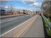 SO8554 : George Street, Worcester by Philip Halling