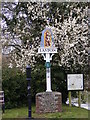 TG1310 : Easton Village sign by Adrian Cable