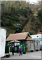 SS7249 : Lynton and Lynmouth Cliff Railway by nick macneill