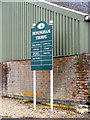 TG1110 : Honingham Thorpe sign by Adrian Cable