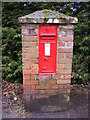 TG2702 : Upgate Victorian Postbox by Adrian Cable