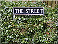 TG2703 : The Street sign by Adrian Cable