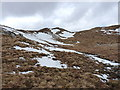 NH0124 : Up the corrie towards Meall Dubh by Richard Law