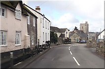 SY2591 : Axmouth village by John Firth