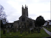 TM3389 : St. Mary's Church, Bungay by Adrian Cable
