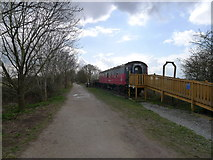 SP1953 : Northern end of the Stratford Greenway by Tim Heaton