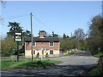 TM0221 : Road junction near Rowhedge by Malc McDonald