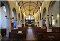 TQ7408 : Interior, St Peter's church, Bexhill by Julian P Guffogg