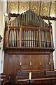 TQ7408 : Organ, St Peter's church, Bexhill by Julian P Guffogg