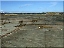NS3138 : Brownfield site at Irvine Harbourside by Thomas Nugent