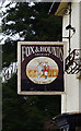 SO7354 : Fox & Hounds (2) - sign, Lulsley, Worcs by P L Chadwick
