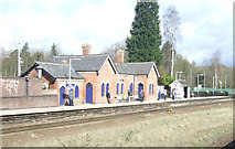 SK3281 : Dore and Totley Railway Station by JThomas