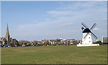 SD3727 : Lytham Windmill by Steven Haslington