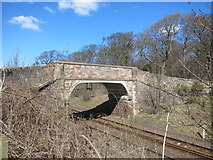 NT5678 : Small bridge at Fortoun Bank by Dr Duncan Pepper
