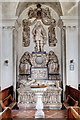 SJ8000 : St Mary's church, Patshull - Astley table-tomb and wall monument by Mike Searle