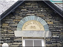 NY3704 : Police Station plaque, Ambleside by Kenneth  Allen