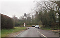 SU3420 : A3090 junction from Ryedown Lane by John Firth