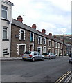 SO1105 : North side of Greenfield Street, Pontlottyn by Jaggery