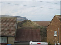 NZ7818 : From  Staithes  Lane  the  dismantled  railway  line by Martin Dawes