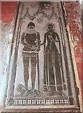 TL4538 : Tomb of Sir John de la Pole, Church of the Holy Trinity by Rob Noble