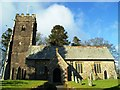 SS8538 : St Mary Magdalene's, Exford by nick macneill