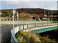 ST0889 : Road bridge across the River Taff, Treforest, Pontypridd by Jaggery