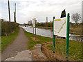 SJ5686 : Trans Pennine Trail, Sankey Canal, Fiddler's Ferry by David Dixon