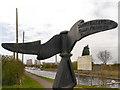 SJ5686 : Trans Pennine Trail Signpost by David Dixon