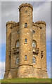SP1136 : Broadway Tower by David P Howard