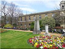 TQ2782 : Memorial in St John's Wood church grounds by Paul Gillett