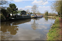 SP0272 : Worcester and Birmingham Canal at Alvechurch by Philip Halling