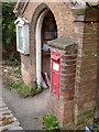 SK7156 : Hockerton/Southwell postbox NG25 96 by Alan Murray-Rust
