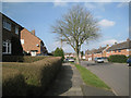 SP0566 : Greenlands Avenue, Greenlands, Redditch by Robin Stott