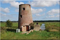 TG3504 : Drainage Mill, Buckenham Marshes by Jeremy Halls