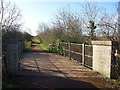 NT4675 : Rural East Lothian : Railbridge at Cottyburn Siding, near Longniddry by Richard West
