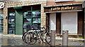J3474 : Bicycle stands, Belfast by Albert Bridge