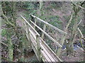 NZ7914 : Footbridge  over  Newton  Beck by Martin Dawes