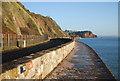 SX9473 : South Devon Railway Sea Wall by N Chadwick