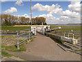 SJ5184 : Sankey Canal, Widnes Lock by David Dixon