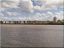 SJ5183 : River Mersey, Runcorn by David Dixon