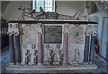 TQ9644 : Tomb of Sir John Tufton, Hothfield church by Julian P Guffogg