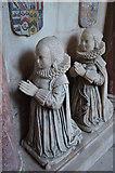 TQ9644 : Margaret & Cecily Tufton, on Sir John Tufton Tomb by Julian P Guffogg