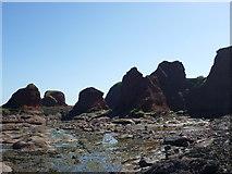 NT6779 : Coastal East Lothian : The Lower Jawbone, Dunbar by Richard West